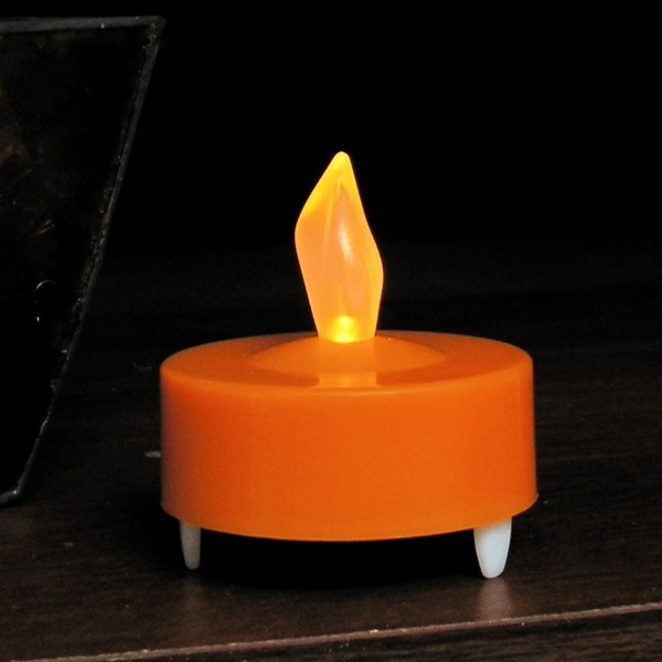 Orange Electric Tealight