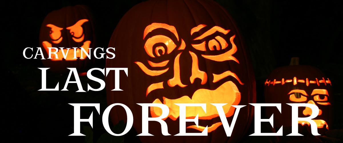 Fun Kins Artificial Carvable Pumpkins