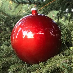 Craft Christmas Ornament Red